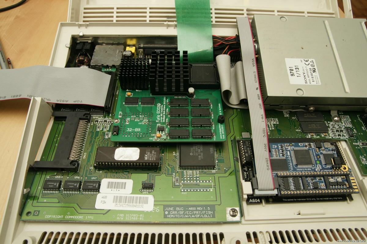 Furia - Amiga600 accelerator card